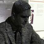 Alan Turing Statue by Caroline Smalley