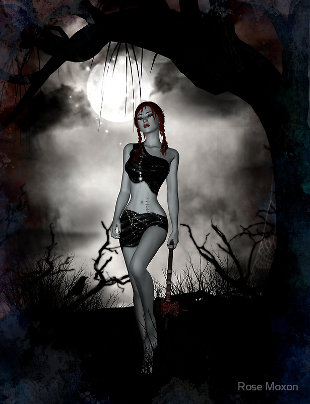 Midnight by Rose Moxon