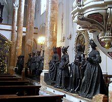 The Hofkirche (Imperial Church) Innsbruck, Tyrol - ancestors statues by sstarlightss