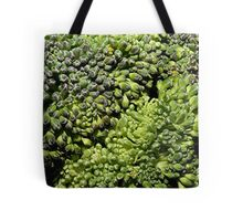Broccoli Macro Tote Bag