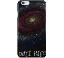 Life, the Universe and Everything, The Hitchhiker's Guide to the Galaxy, Don't Panic Designs iPhone Case/Skin