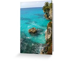 Surrounded by Blue #2 Greeting Card