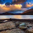 Sunset over Loch Long by yeamanphoto