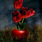 Red Tulips by Katy Breen