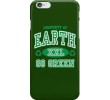 EARTH DAY, GO GREEN iPhone Case/Skin