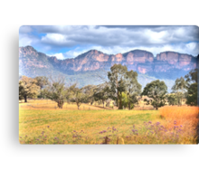 True Colours - Capertee Valley , Garden of Stone - The HDR Experience Canvas Print