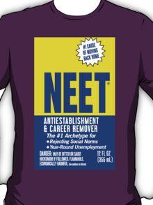 Sticker! NEET Antiestablishment & Career Remover T-Shirt