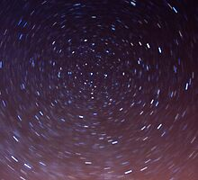Starry Sky - Directly Above by Matt Thorne