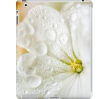 Dewey White Flower iPad Case/Skin