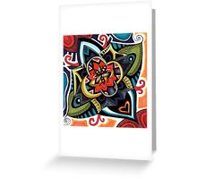 Heart Cluster Greeting Card