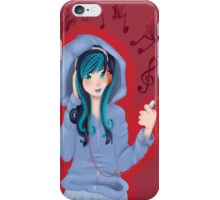 Blue's Back with a beat iPhone Case/Skin