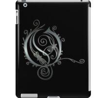 LATTICE LETTER O - brushed steel iPad Case/Skin