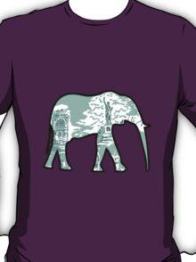 Lilly Print Elephant 7 T-Shirt