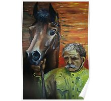 The man and the horse Poster