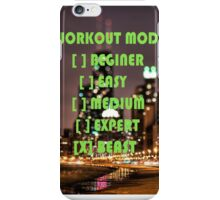 Workout iPhone Case/Skin