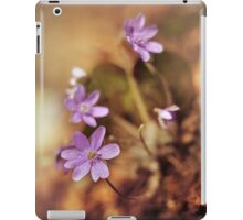 Afternoon impression with liverworts iPad Case/Skin