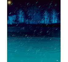 Moonlight tears Photographic Print