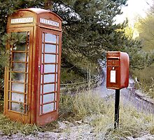 phone & post box by Laura Williams