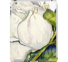 Magnolia Bloom with Leaves iPad Case/Skin