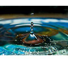 Drops 9 Photographic Print