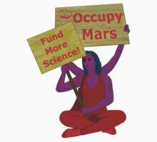 occupy mars by IanByfordArt