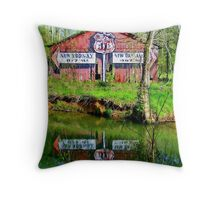 462 miles to New Orleans Throw Pillow