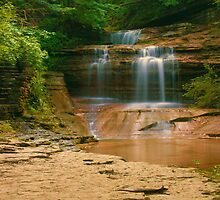 Buttermilk - Upper Falls, Ithaca, NY by mklue