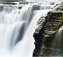 Water Blurs the Falls by LocustFurnace