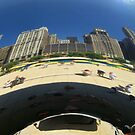 "Chicago Reflected in ""The Bean"" by LeeMascarello"