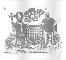 A Complete Guide to Heraldry - Figure 669 — Arms of Arbroath Poster