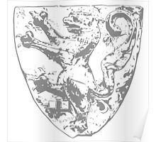 A Complete Guide to Heraldry - Figure 29 — Shield of the Landgrave Konrad of Thuringia (died 1241) Poster