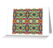 Doodle Pattern Greeting Card