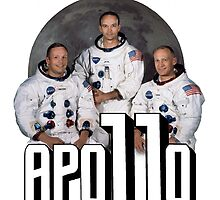Apollo 11 Art - Fantastic Print Featuring NASA Astronauts by verypeculiar