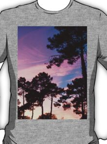 Sunset - Clouds, wind and trees #2 T-Shirt