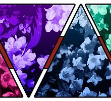 Floral geometry by BaronSigma