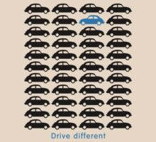VW Beetle - Drive different (black) by GET-THE-CAR
