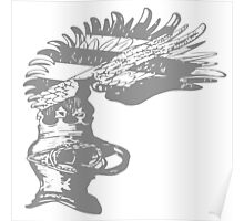 A Complete Guide to Heraldry - Figure 608 — Pageant Helmet, with the Crest of Burgau Poster