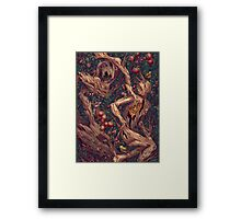Pattern Forest Framed Print