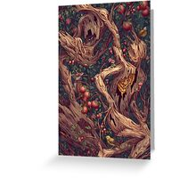 Pattern Forest Greeting Card