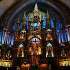 Montreal's Notre-Dame Basilica by mewalsh