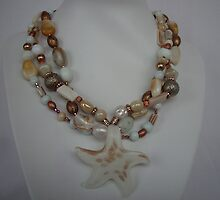 Sea star Necklace by honeyjewel