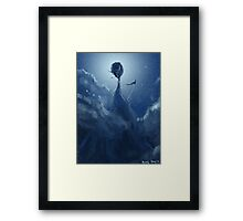 Too High Framed Print