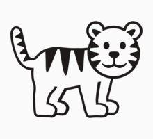 Cute tiger by Designzz