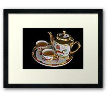 Chinese Tea Set  Framed Print