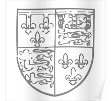 A Complete Guide to Heraldry - Figure 727 — John, Duke of Bedford, third son of Henry IV Poster