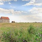Saint Peter's on the Wall, Bradwell on Sea, Essex, UK by Pauline Tims