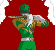 Green Ranger Into Darkness Sticker