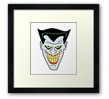 Joker The Animated Series Framed Print