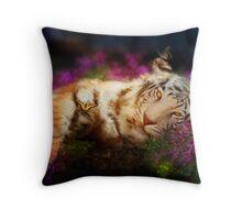 Tiger, Tiger Throw Pillow
