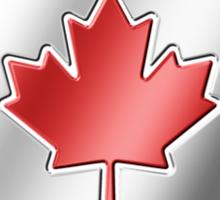 Canadian Flag 2 - Canada - Metallic Sticker